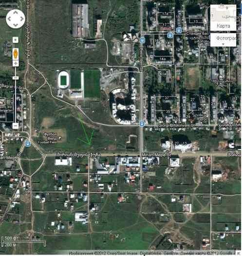 მიწის ნაკვეთი დიდ დიღომში, ცენტრალური გზის პირას