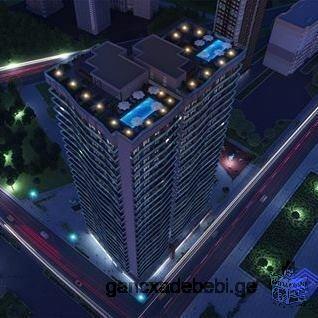 მშენებარე ბინა ბათუმის პრესტიჟულ უბანში ( ზღვიდან 100 მეტრში)